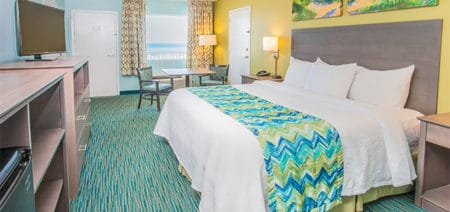1 King Room Gulf Front View Featured Image